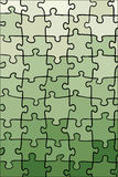 Green gradient puzzle texture Royalty Free Stock Photography