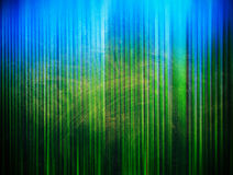 Green grainy vertical stripes Royalty Free Stock Photos