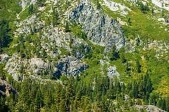 Green Granite Mountain Royalty Free Stock Image