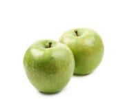 Green granny Smith apple isolated Stock Photos