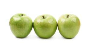 Green granny Smith apple isolated Royalty Free Stock Photo