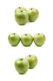 Green granny Smith apple isolated Stock Photography