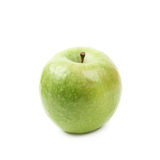 Green granny Smith apple isolated Royalty Free Stock Image