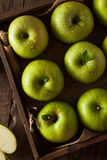 Green Granny Smith Apple Stock Image