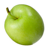Green Apple  on White Background Stock Image
