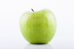 Green Granny Smith apple Stock Images