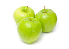 Green Granny Smith Apples Stock Photos