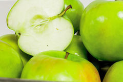 Green Granny Smith Apples Royalty Free Stock Images