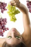 The green grape Stock Photo
