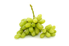 Green grape. On white background Stock Photography