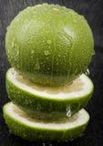 Green grapefruit Stock Photos