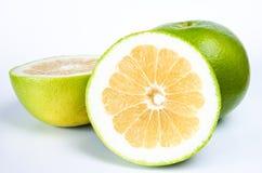 Green grapefruit Royalty Free Stock Photos