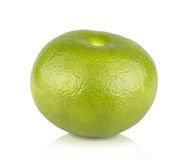 Green grapefruit isolated Royalty Free Stock Image