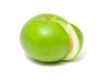 Green Grapefruit (Jaffa Sweetie) Stock Images