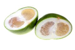 Green grapefruit sweetie Royalty Free Stock Image