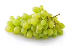 Green grapes Stock Photos