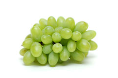 Green grapes. Royalty Free Stock Images