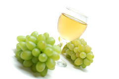 Green grapes. Stock Photo