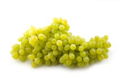 Green grapes. Green and ripe Royalty Free Stock Photo