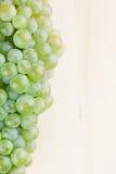 Green grapes border Royalty Free Stock Image