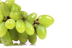 Green grapes Royalty Free Stock Photography
