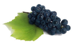 Green grapes isolated Royalty Free Stock Photography