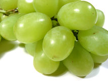 Green grapes macro 1 Royalty Free Stock Photography