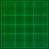Green graph paper Royalty Free Stock Image