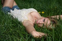 Green grass Stock Photography