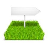 Green grass arrow Stock Photos