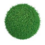 Green grass ball Royalty Free Stock Image