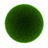 Green grass ball Royalty Free Stock Photography