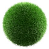 Planet of green grass Stock Photography