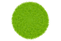 Green Grass Ball. Vector Royalty Free Stock Photos