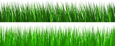 Green grass collection background Royalty Free Stock Images