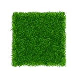 Green Grass Field Banner Football Place. Vector Stock Photo
