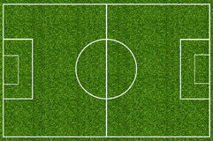 Green grass field for soccer Stock Photo