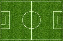 Green grass field for soccer. Empty sport soccer field green grass Stock Photo