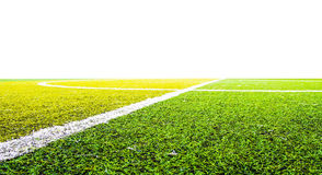 Green grass for football sport. Football field, soccer Stock Photography