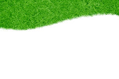 A green grass frame Stock Photos