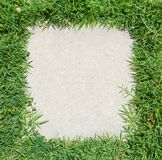 Green Grass frame Stock Photos