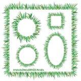 Green Grass Frames Royalty Free Stock Photos