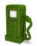 Green grass  fuel pump out Stock Images