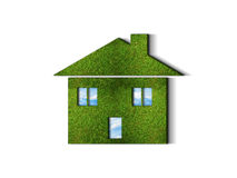 Green grass HOME Stock Photo