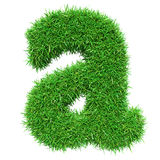 Green Grass Letter A Royalty Free Stock Photo