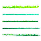 Green grass lines Royalty Free Stock Photography