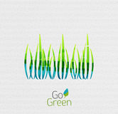 Green grass nature concept Royalty Free Stock Photo
