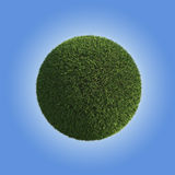 Green Grass Planet Stock Image