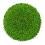 Green grass sphere Royalty Free Stock Image
