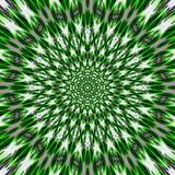 Green grass spring star Mandala Flower Vibrant Kaleidoscope royalty free stock photos